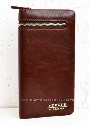 Мужской кошелек, визитница, портмоне.