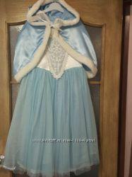 Карнавальное платье и накидка Эльза