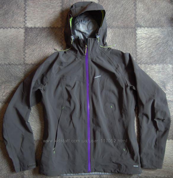 Куртка штормовка хардшелл Quechua  мембрана  ветровка дождевик р. L