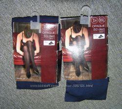 Женские колготки Canda Германия 1шт в упаковке - 50den matt нави XXL