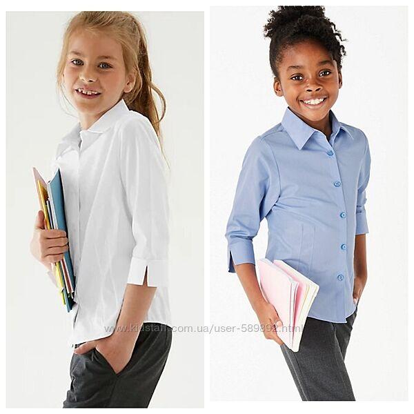 Блуза, рубашка школьная Marks & Spencer р. 122