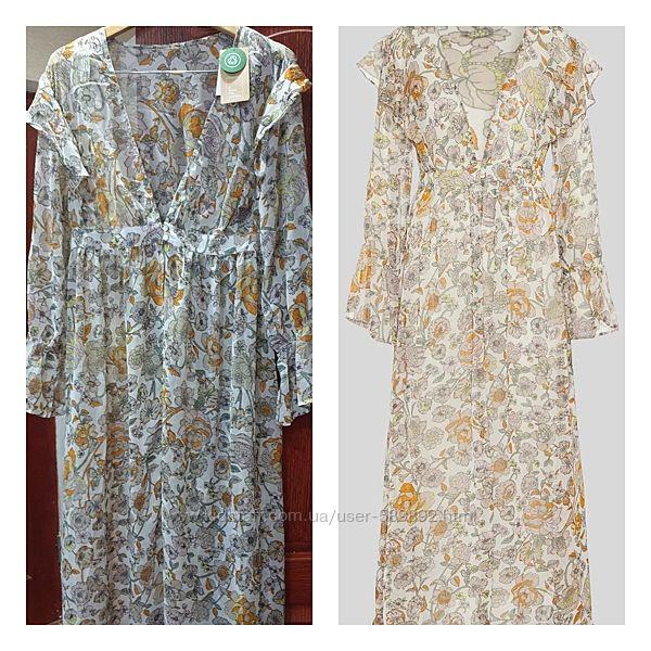 Парео, пляжное платье С&A р. S/М