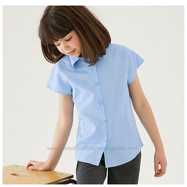 Блуза, рубашка школьная Marks & Spencer р. 128