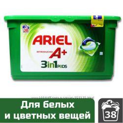 Гель для стирки в капсулах  PERSIL, ARIEL, Vizir Original