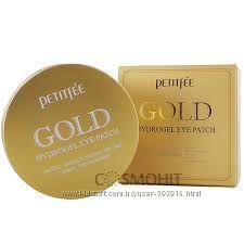 Гидрогелевые патчи для глаз с золотым комплексом 5 Petitfee&Koelf Gold