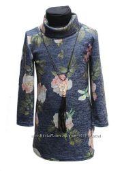 Новая туника-платье на девочку 5-7 лет