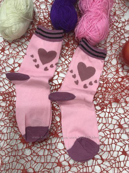 Детские носки на девочку и мальчика р-р. 20-22см