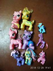 Лошадки Пони резиновые пакетом 9шт.
