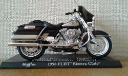 Модель мотоцикл байк Harley-Davidson 1998 FLHT ELECTRA GLIDE