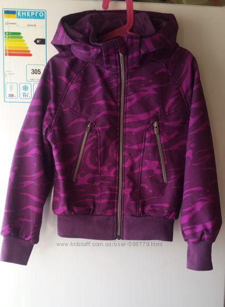 Куртка ветровка софтшел softshell h&m 8-9 лет 134 см