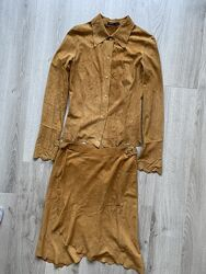 Кожаный костюм Upstar
