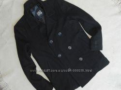 пальто мужское черное л-ка