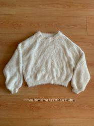 Супер мягкий укороченный свитерок Zara, идеальное состояние