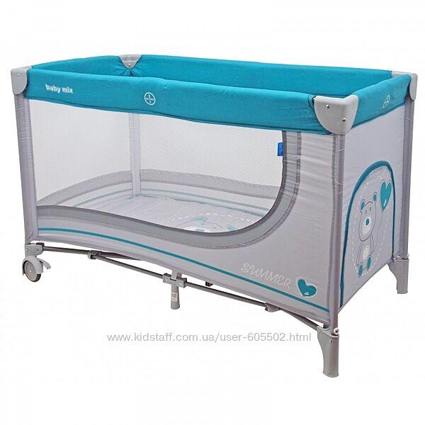 Манеж-кровать Baby Mix Мишка