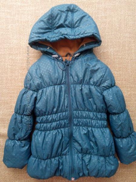 Теплая зимняя куртка Бемби на девочку