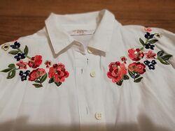 Рубашка вышиванка на 7-8 лет