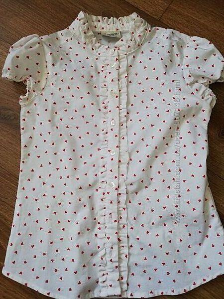 Блузка в школу нарядная 7-8 лет