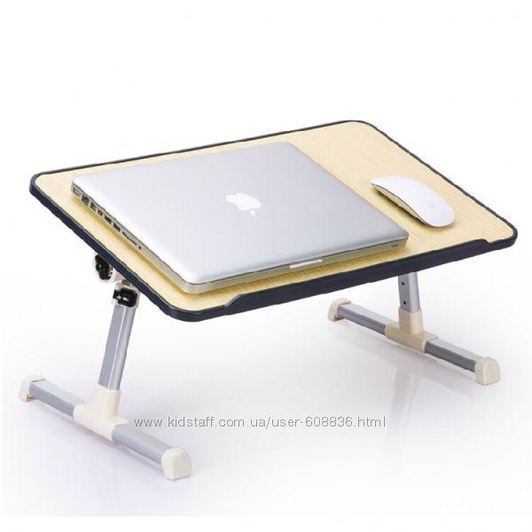 Столик подставка для ноутбука с кулером Laptop table