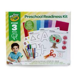 Мой первый комплект готовности к дошкольному воспитанию Crayola , этап 3