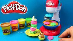 Play-Doh Kitchen Creations Spinning Treats Mixer. Миксер для конфет