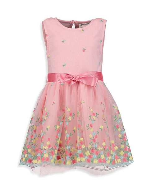 Нарядное Летнее Платье 116--146см- Нарядные Платья/ Тюль-Waikiki 116-160см
