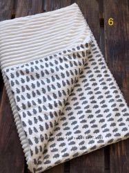 Детские одеяла Minky невероятно мягкие и плюшевые. Разные расцветки