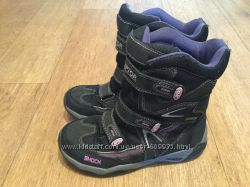 Высокие деми ботинки на девочку р. 34 стелька 22, 5 см в хор. сост