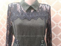 Изысканное стильное платье, размер 48
