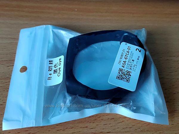 Силиконовый ремешок для фитнес браслета/Color-Black.