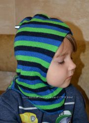 Зимняя шапкашлем на 2года