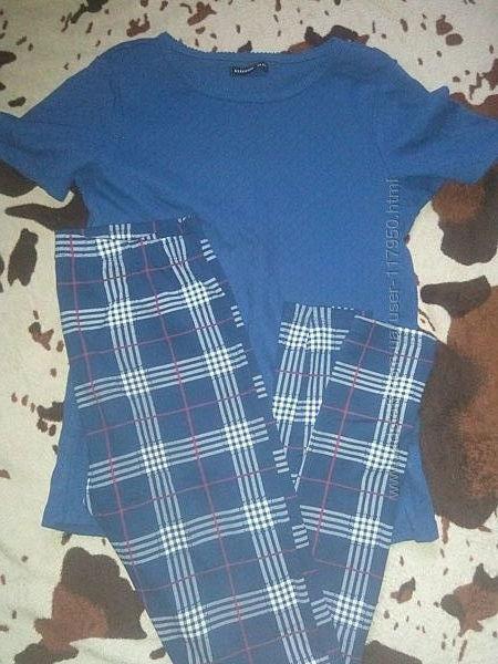 Лосины и футболка резервед 152-158см