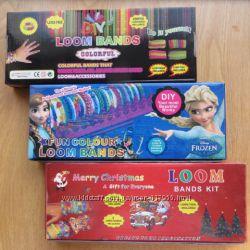 Наборы резинок для браслетов Loom Bands 600 шт  станок