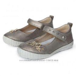 5a23ee47e SALE полностью кожаные туфельки D. D. Step на девочку размер 25 26 ддстеп