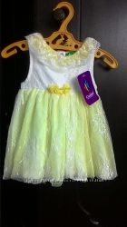 Новое нарядное платье 6-12мес для вашей принцессы, турция