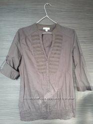 Легкая нежная блузка stradivarius