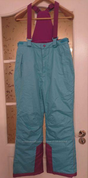 Штаны брюки лыжные. Полукомбинезон рост 158-176