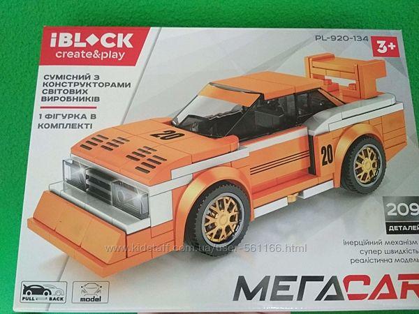 Iblock create&play 209 дет  конструктор Машина  209 деталей