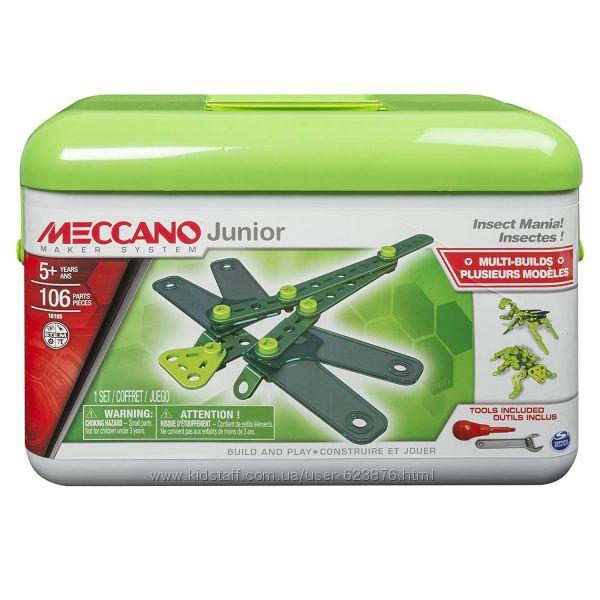 Конструктор Мекано Meccano Junior Tool Box 106 деталей Оригинал
