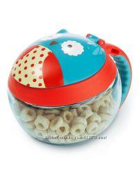 Skip Hop Zoo Snack Cup Owl чашка тарелка для снеков сова скип хоп