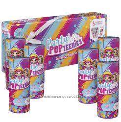 Новые Party Popteenies . Хлопушки с куклой-сюрпризом