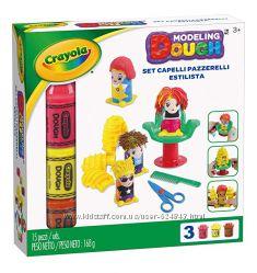 Набор для лепки Crayola Hair Stylist. Парикмахерская Сумасшедшие причёски