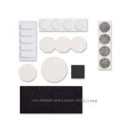 Самоклеющиеся войлочные подкладки для ножек мебели 1002125