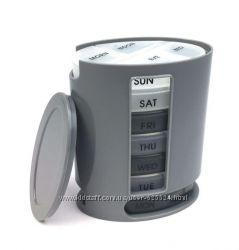 Контейнер-органайзер для таблеток, таблетница Неделька Pillbox 1002280