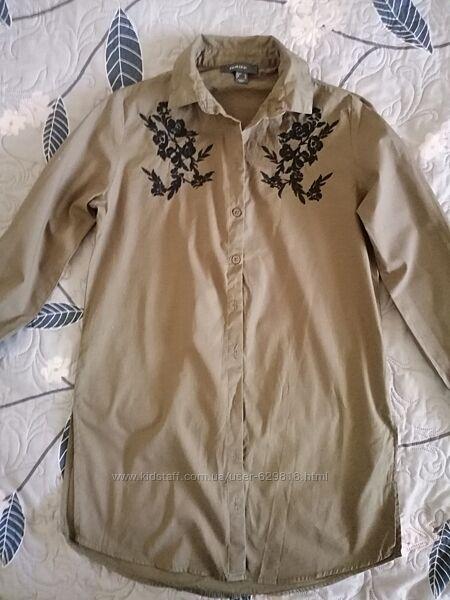 Удлинённая рубашка Primark, XS