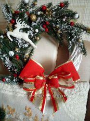 Веночки, новогодние венки, композиции, новый год, все для праздника