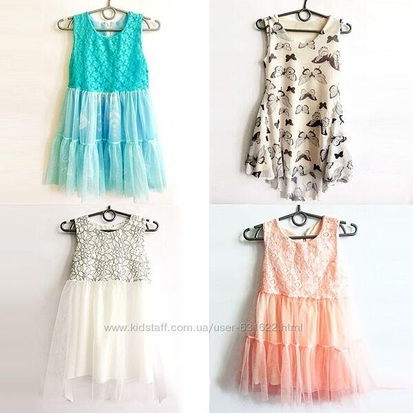Платья нарядные для девочки замеры под фото