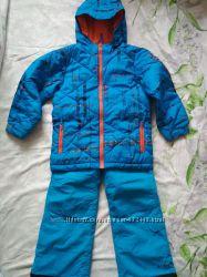 Зимний раздельный комбинезон Columbia с двумя штанами на мальчика 6-8 лет