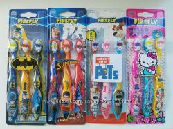 Детская зубная щетка китти Pets Marvel бетмен супермен набор з США