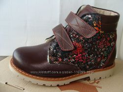 Демисезонные ботинки с защитой носка и каблуком скошеним