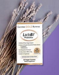 California Gold Nutrition, LactoBif Probiotic, пробиотики, 30 млрд КОЕ, 60